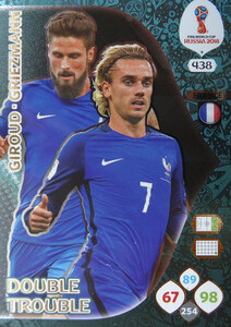 WORLD CUP RUSSIA 2018 DOUBLE TROUBLE FRANCJA 438