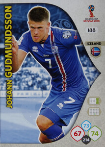 WORLD CUP RUSSIA 2018 ISLANDIA TEAM MATE GUDMUNDSSON 188