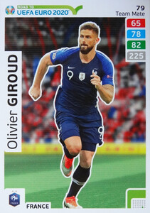 ROAD TO EURO 2020 TEAM MATE Olivier Giroud 79