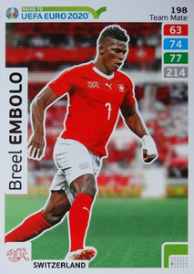 ROAD TO EURO 2020 TEAM MATE  Breel Embolo 198