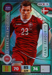 ROAD TO RUSSIA 2018 FANS FAVOURITE DANIA HOJBJERG 13