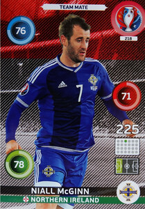 EURO 2016 TEAM MATE Niall McGinn #218