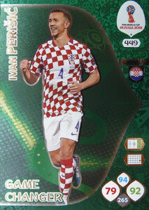 WORLD CUP RUSSIA 2018 GAME CHANGER PERISIC 449