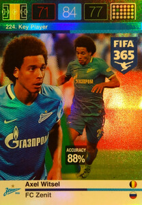2016 FIFA 365 KEY PLAYER Axel Witsel #224