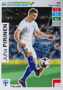 ROAD TO EURO 2020 TEAM MATE Juha Pirinen 67