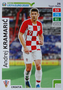 ROAD TO EURO 2020 TEAM MATE Andrej Kramarić 26
