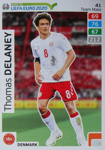 ROAD TO EURO 2020 TEAM MATE Thomas Delaney 41