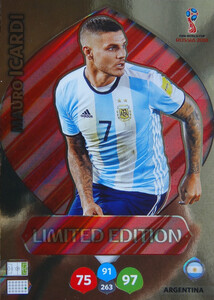 WORLD CUP RUSSIA 2018 LIMITED ARGENTYNA 	Mauro Icardi