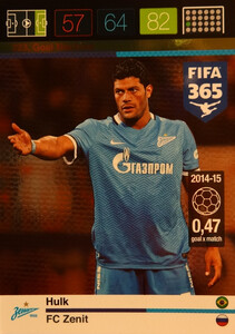 2016 FIFA 365 GOAL MACHINE Hulk #223