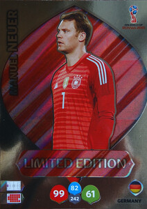 WORLD CUP RUSSIA 2018 LIMITED NIEMCY Manuel Neuer