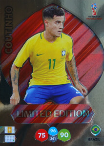 WORLD CUP RUSSIA 2018 LIMITED BRAZYLIA Coutinho