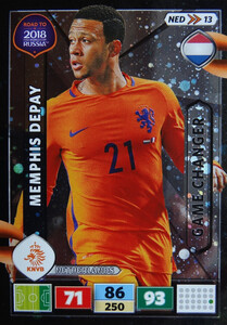 ROAD TO RUSSIA 2018 GAME CHANGER HOLANDIA DEPAY 13