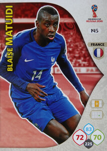 WORLD CUP RUSSIA 2018 TEAM MATE FRANCJA MATUIDI 145