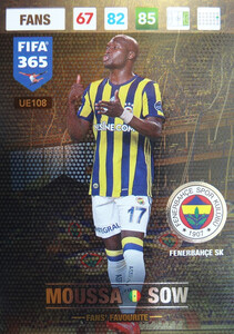 UPDATE 2017 FIFA 365 FANS' FAVOURITE MOUSSA SOW #108