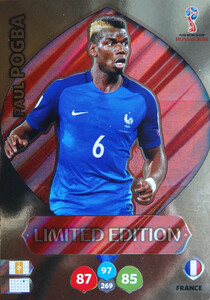 WORLD CUP RUSSIA 2018 LIMITED FRANCJA  Paul Pogba