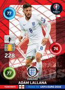 ROAD TO EURO 2016 TEAM MATE Adam Lallana #66