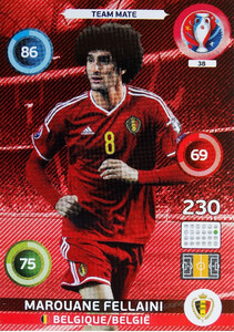 EURO 2016 TEAM MATE Marouane Fellaini #38