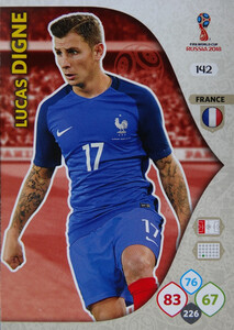 WORLD CUP RUSSIA 2018 TEAM MATE FRANCJA DIGNE 142