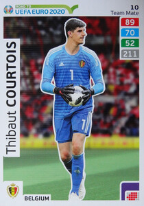 ROAD TO EURO 2020 TEAM MATE Thibaut Courtois 10
