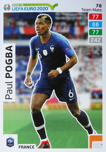 ROAD TO EURO 2020 TEAM MATE Paul Pogba 78