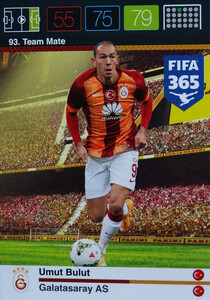 2016 FIFA 365 TEAM MATE GALATASARAY AS Umut Bulut #93