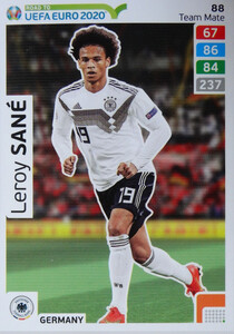 ROAD TO EURO 2020 TEAM MATE Leroy Sané 88