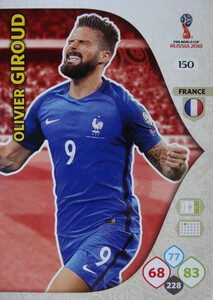 WORLD CUP RUSSIA 2018 TEAM MATE FRANCJA GIROUD 150