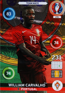 EURO 2016 TEAM MATE William Carvalho #270