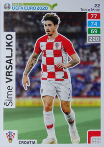 ROAD TO EURO 2020 TEAM MATE Šime Vrsaljko 22
