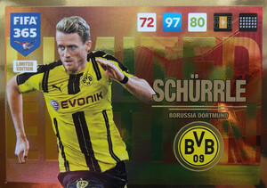 UPDATE 2017 FIFA 365 LIMITED SCHURRLE