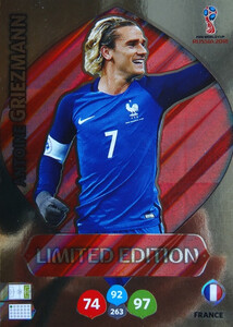 WORLD CUP RUSSIA 2018 LIMITED  FRANCJA  Antoine Griezmann
