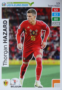 ROAD TO EURO 2020 TEAM MATE Thorgan Hazard 13