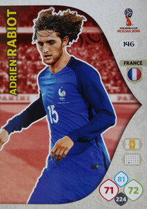 WORLD CUP RUSSIA 2018 TEAM MATE FRANCJA RABIOT 146