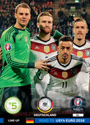 ROAD TO EURO 2016 LINE-UP Niemcy #61