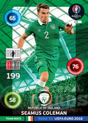 ROAD TO EURO 2016 TEAM MATE Seamus Coleman #111