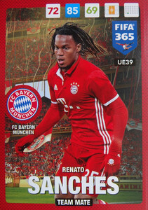 UPDATE 2017 FIFA 365 TEAM MATE RENATO SANCHES #39