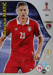 WORLD CUP RUSSIA 2018 TEAM MATE SERBIA MATIĆ 310