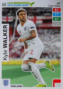 ROAD TO EURO 2020 TEAM MATE Kyle Walker 47
