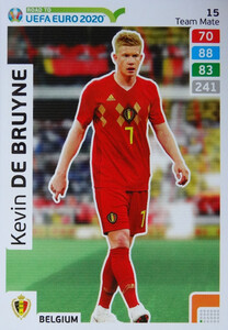 ROAD TO EURO 2020 TEAM MATE Kevin De Bruyne 15