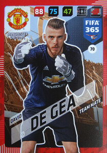 2018 FIFA 365 TEAM MATE David de Gea #70
