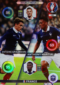 EURO 2016 DOUBLE TROUBLE  Griezmann /  Martial #132