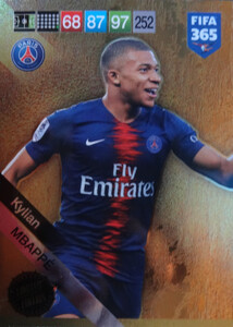 2019 FIFA 365 UPDATE LIMITED EDITION MBAPPE
