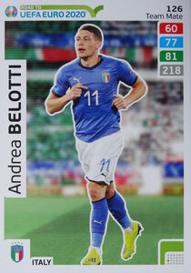 ROAD TO EURO 2020 TEAM MATE Andrea Belotti 126