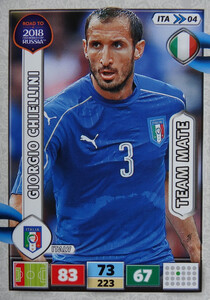 ROAD TO RUSSIA 2018 TEAM MATE WŁOCHY  CHIELLINI  04