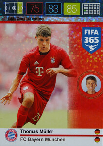 2016 FIFA 365 ONE TO WATCH Thomas Müller #168