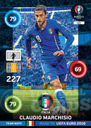 ROAD TO EURO 2016 TEAM MATE Claudio Marchisio #121