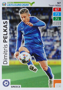 ROAD TO EURO 2020 TEAM MATE Dimitris Pelkas 97