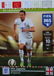 2016 FIFA 365 INTERNATIONAL STAR Phil Jagielka #323