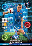 ROAD TO EURO 2016 TEAM MATE Juraj Kucka #194