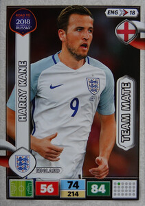 ROAD TO RUSSIA 2018 TEAM MATE ENGLAND ANGLIA KANE 18